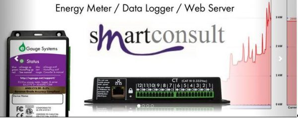 EGAUGE MODEL NUMBER: EG3000 - 64 REGISTER DATABASE