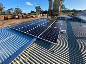 commercial solar for sawmill