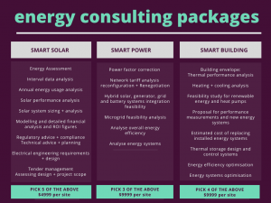 smart consult energy consulting packages