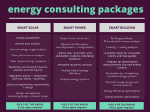 energy consulting packages