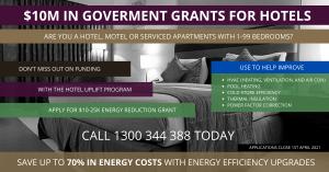HOTEL UPLFIFT PROGRAM ENERGY GRANT