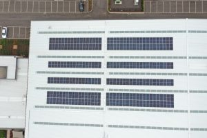 This 99.9kW roof top solar system was designed and installed by SmartConsult for GPT