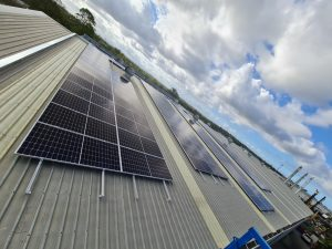 solar project in Tingalpa, QLD is a 99.9 kW rooftop solar system