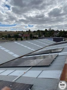 rooftop solar system for this Australian Mobile Food Vendor in Reservoir, Victoria