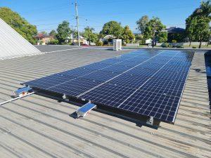 Leichhardt Baptist Church rooftop solar system